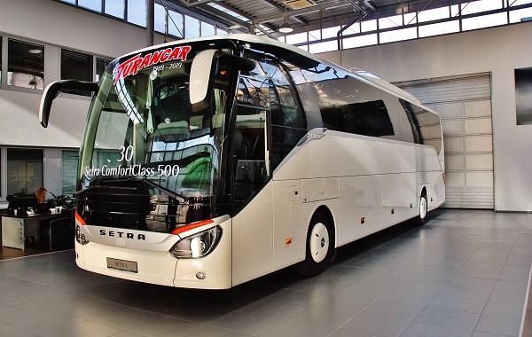 30 autobusů Setra ComfortClass 500 pro TURANCAR (foto: Zdeněk Nesveda)