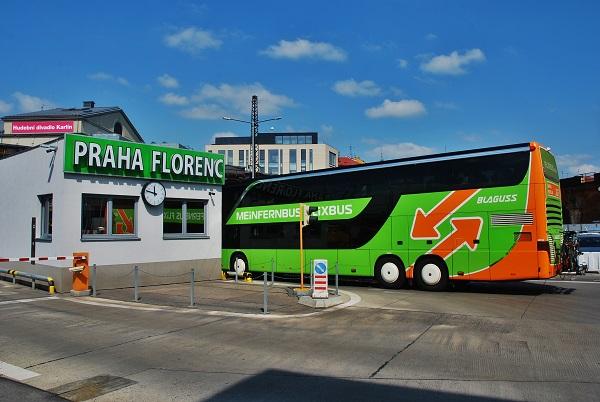 FlixBus  Florenci v Praze (foto: Zdeněk Nesveda)