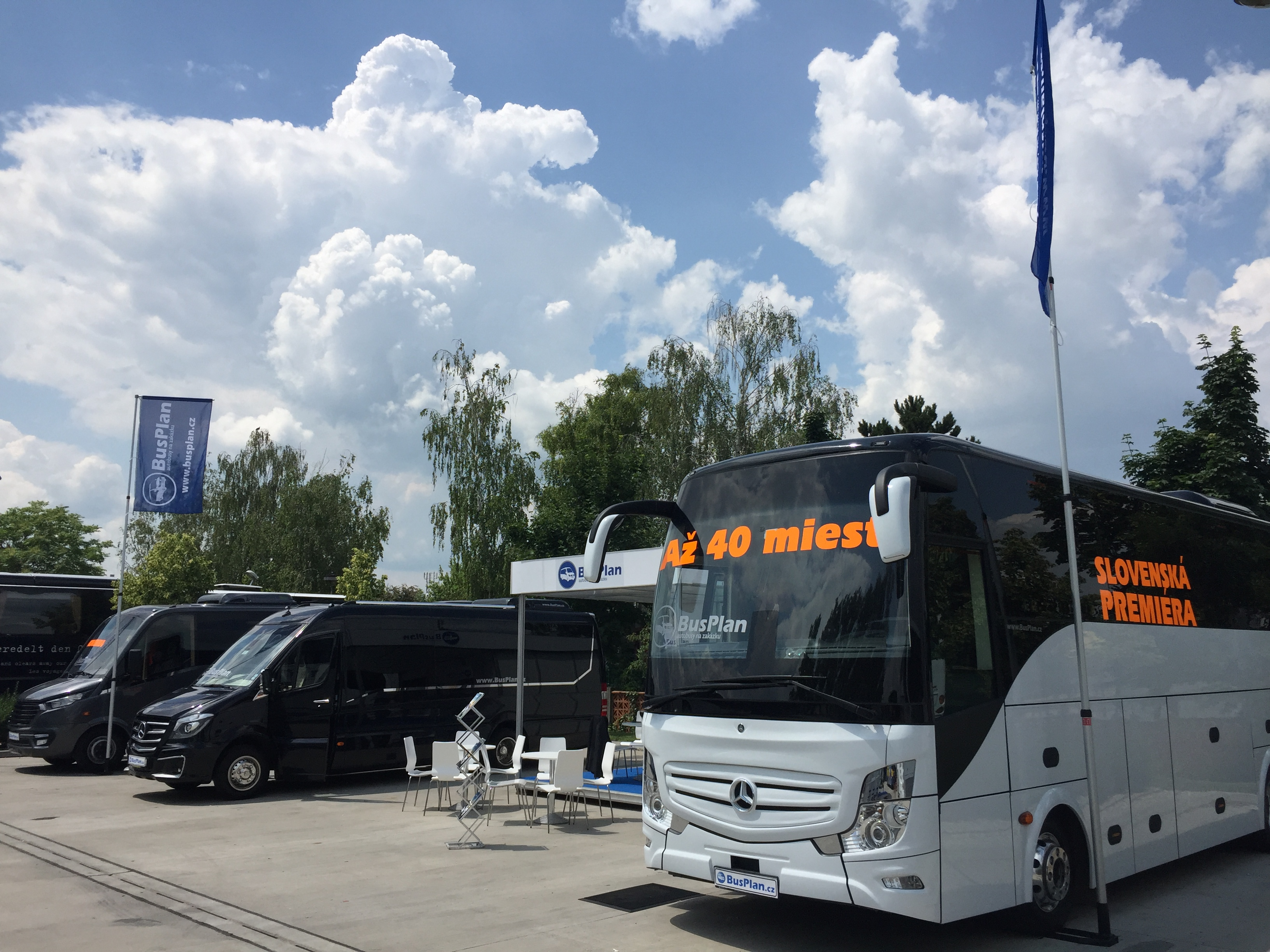 BusPlan, expozice malých autobusů na veletrhu BusShow 2018 (foto: Busplan)