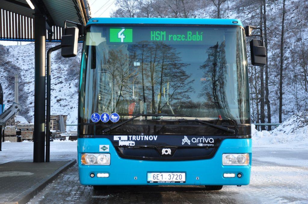 Autobusy SOR NBG 18 (foto: Arriva)