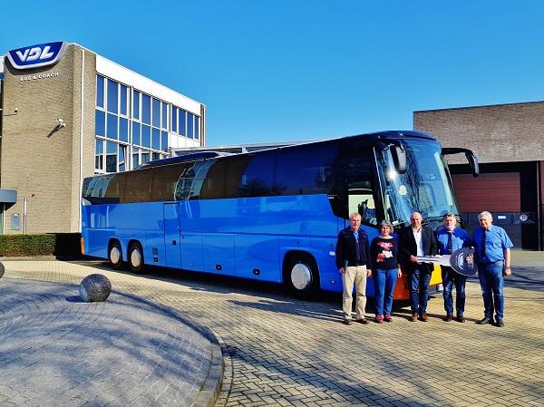 01.04.2019 Slavnostní předání nového autobusu VDL Futura FHD2 148/330, Euro 6, firmě TVARBET MORAVIA, a.s., Hodonín.  (foto:VDL)