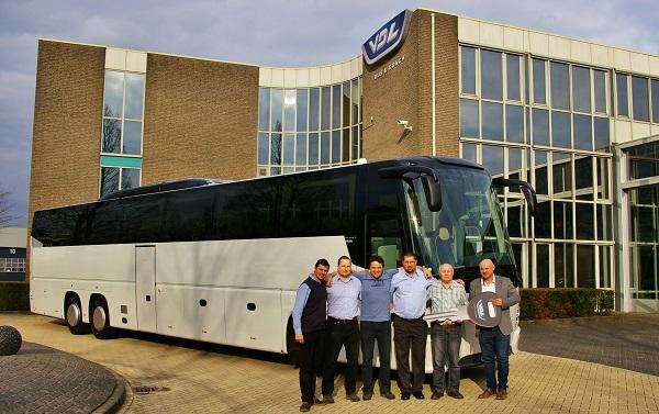 19.3. 2019, předání nového autobusu VDL Futura FHD2 148/330, Euro 6, firmě UCHYTILCZ, s.r.o., Rudíkov. Autobus přebírá rodina Uchytilů.