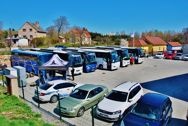 Prezentační akce VDL 2019 v servisním centru DOPRAVA - SERVIS Jaromír Dvořák v Mladé Vožici (foto: Zdeněk Nesveda)