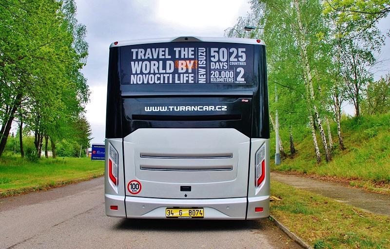 ISUZU NOVOCITI Life - testovací Jízdy na Slovensku