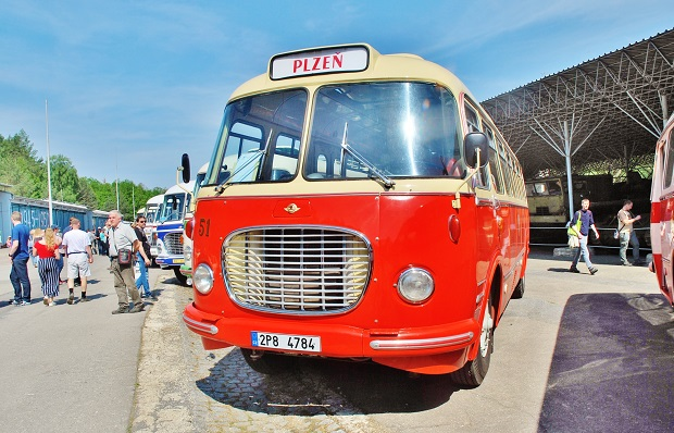 20 let Klubu českých historických autobusů (KČHA) RTO Klub – celostátní sraz Lešany 25. 5. 2019 (foto: Zdeněk Nesveda)