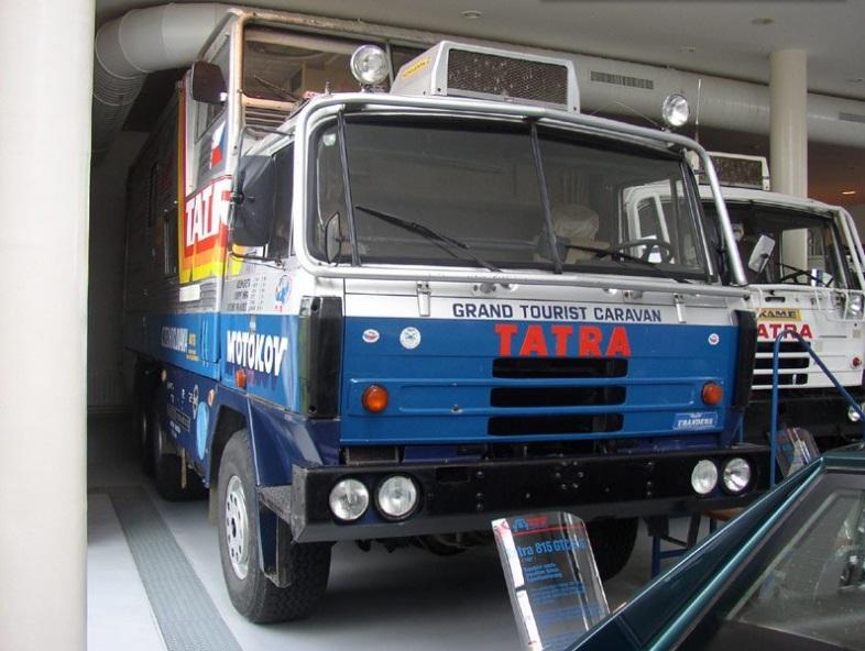 Původní Tatra, která absolvovala cestu kolem světa v letech 1987 až 1990
