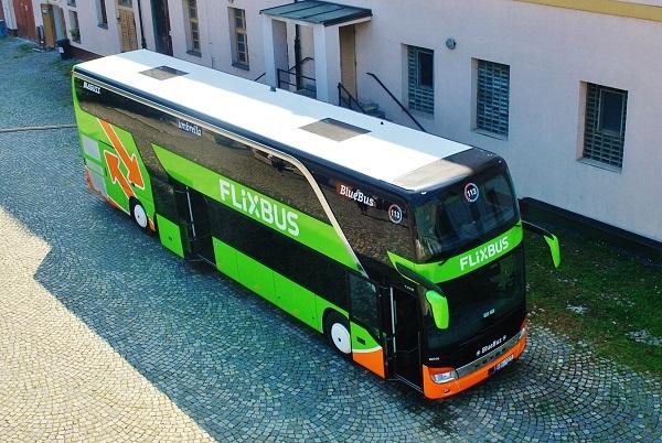 FlixBus, ilustrační foto: Zdeněk Nesveda - BusPress
