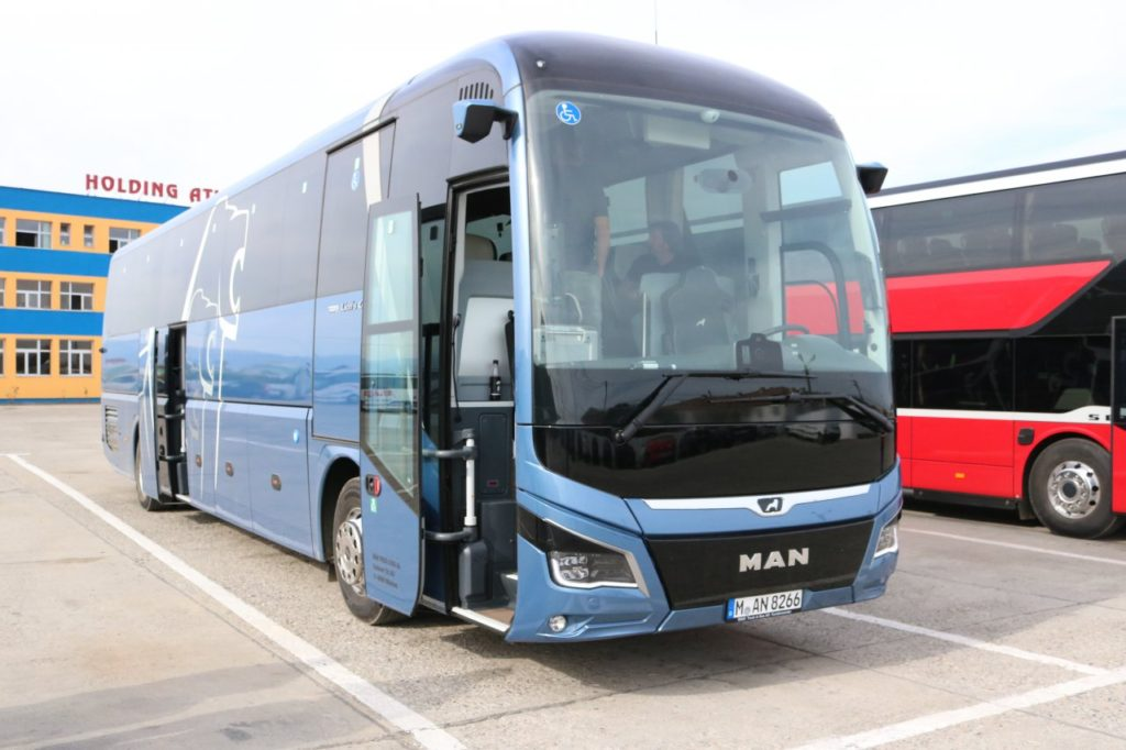 Euro test 2019 Sibiu, 4. díl:  MAN Lion´s Coach