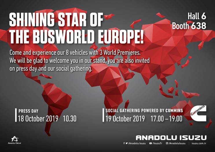 ISUZU ANADOLU BUSSWORLD EUROPE 2019