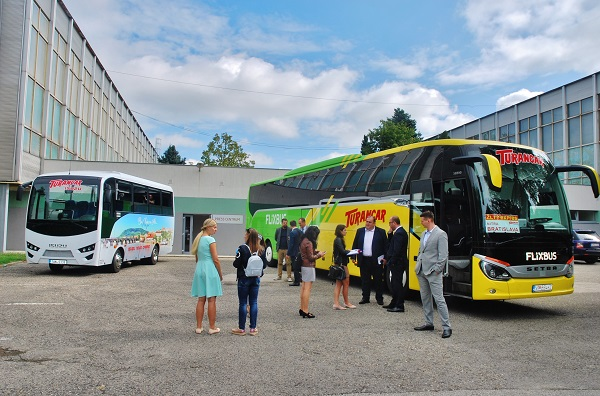 Tisková konference BUS SHOW zdravá doprava Nitra 2020