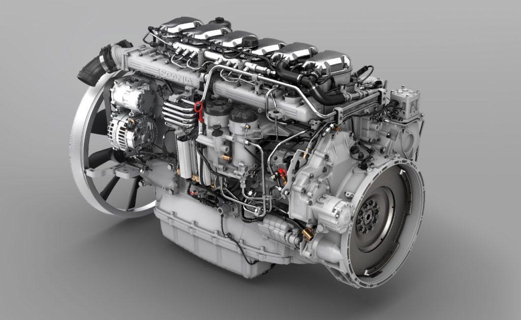 Nový motor  Scania – DC13 166 s výkonem 540 koní (foto: Scania)