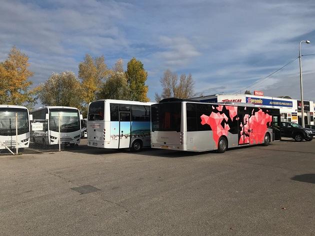 Autobusy Isuzu 2019