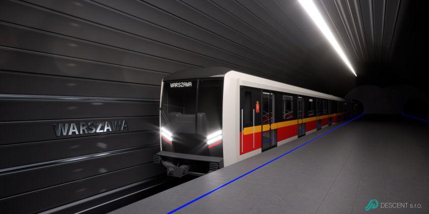 Škoda Transportation - metro Varšava