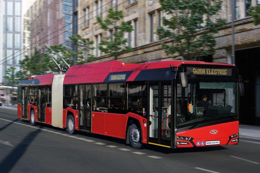 Trolejbus Škoda v Budapešti