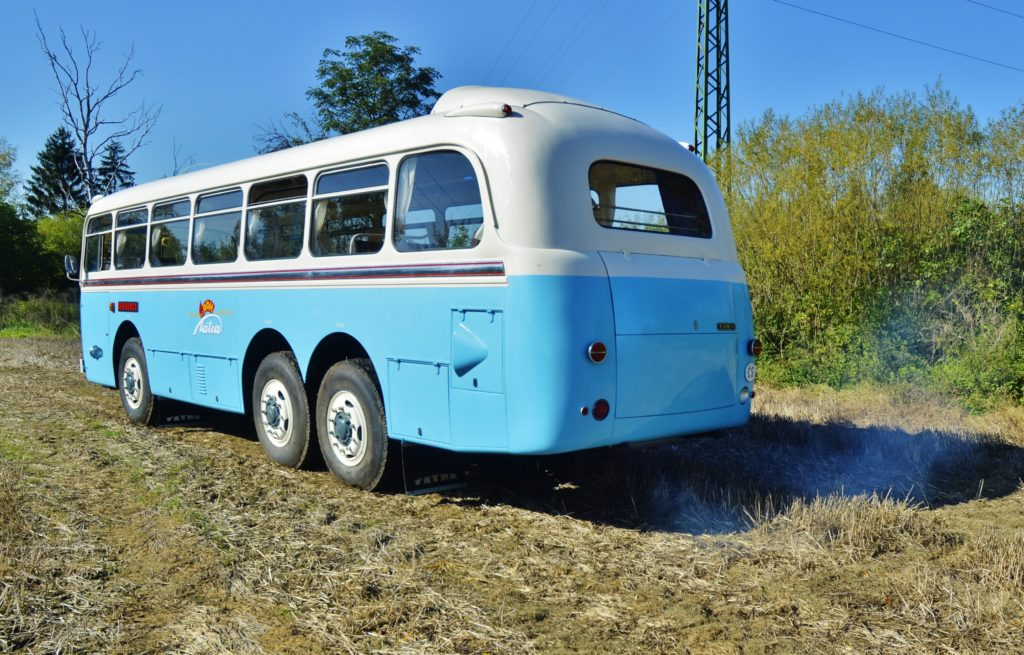 Tatra 500 HB na podvozku Tatra 138 (foto: Zdeněk Nesveda)