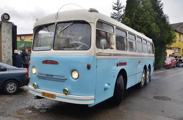 Křest historického horského autobusu TATRA 500 HB (foto: Zdeněk Nesveda)