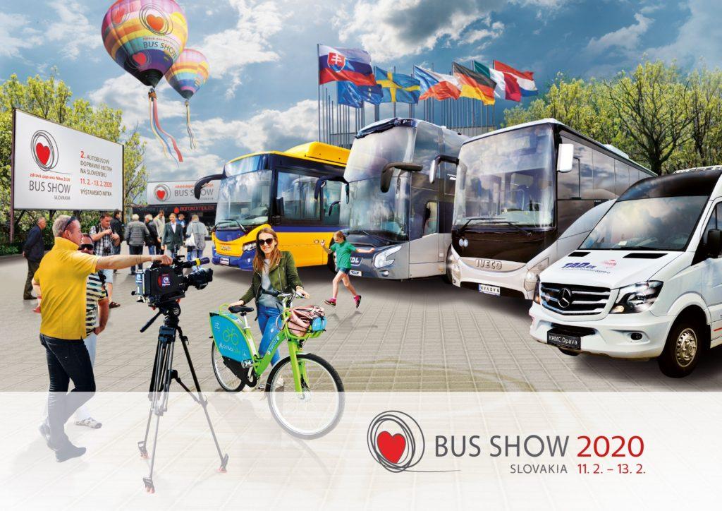 Inteligentné systémy pre dopravu na veľtrhu BUS SHOW zdravá doprava 2020