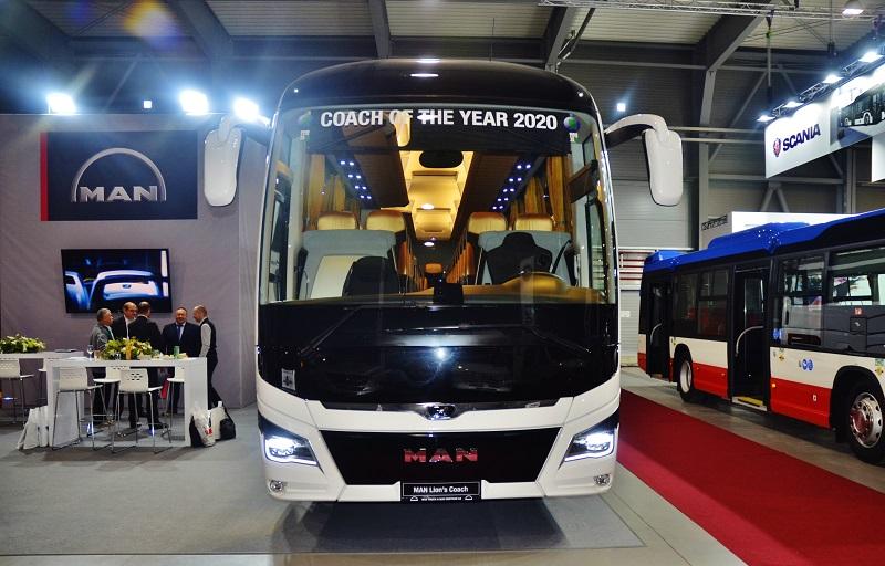 MAN Lion's Coach autokar roku 2020 (lustrační foto Zdeměk Nesveda)