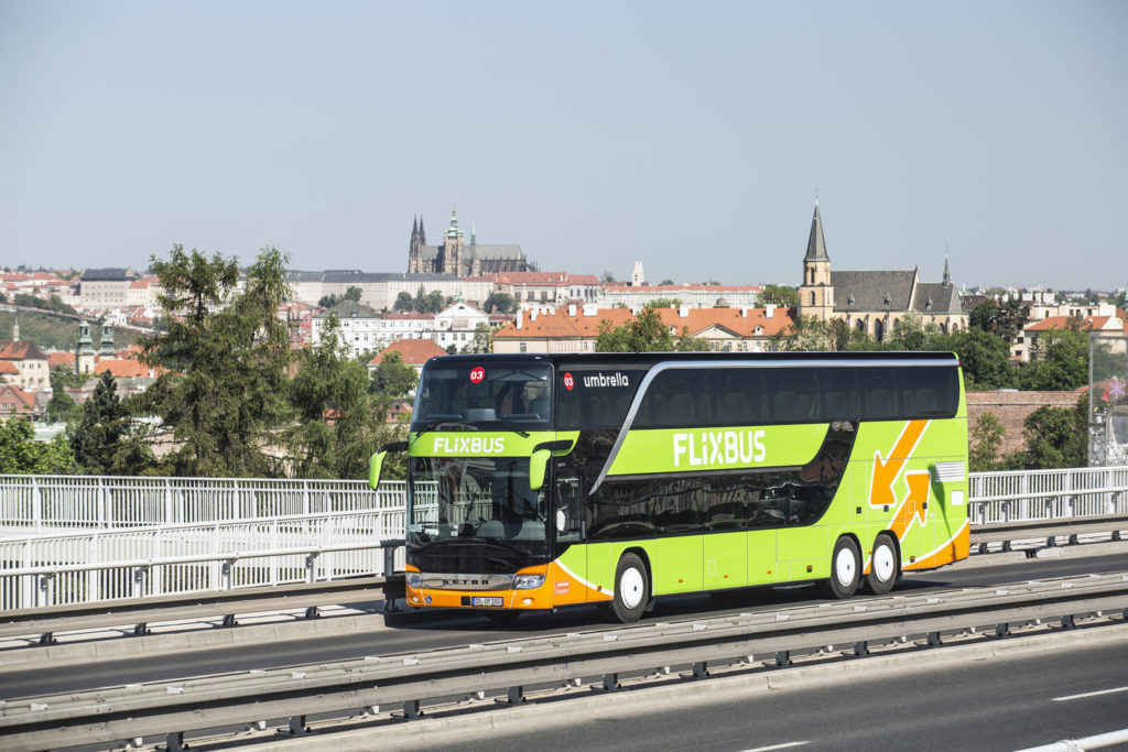 Autobus FlixBus Praha