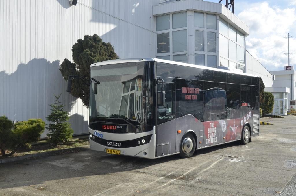 ISUZU NovoCiti Life na veletrhu BUS SHOW zdravá doprava Nitra 2020 (foto: Zdeněk Nesveda -  BusPress)