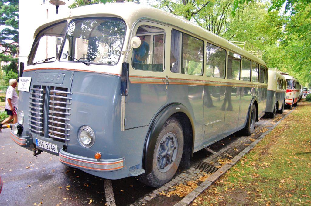 Linkový autobus Škoda 706 RO 1947