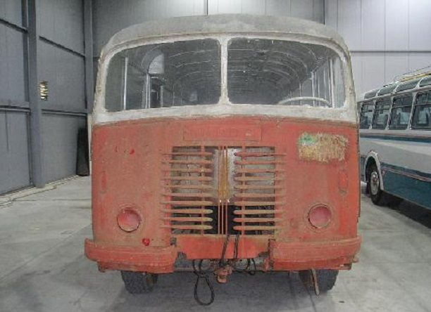Autobus Škoda 706 RO 1947 éřed renovací