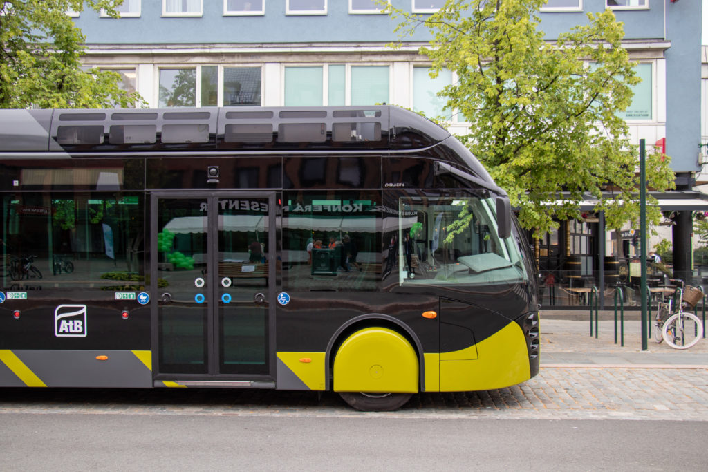 Metrobus Van Hool  Exqui.City v norském Trondheimu